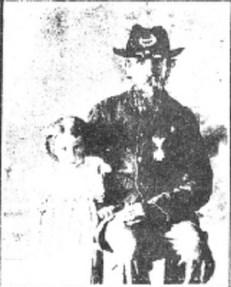 Portrait of Edwin Burton, Civil War veteran