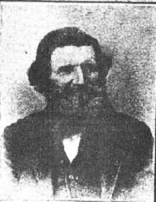 Portrait of Lewis Crosby, Civil War veteran