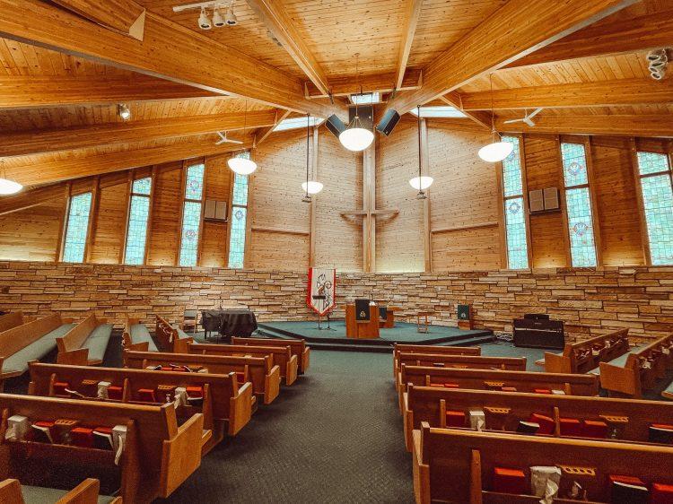 Inside of Church Sanctuary