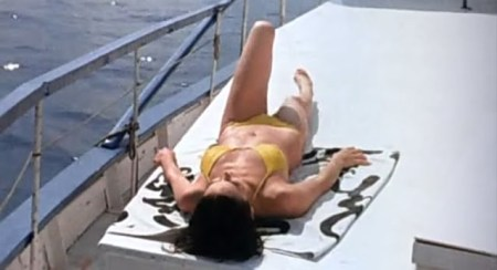 SW girl on yacht
