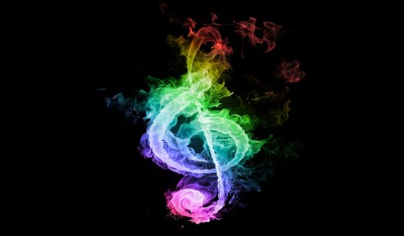 Flames-Music-Rainbows-Notes-Treble-Clef-Rainbow-Note-Fire-Hd-Wallpaper-