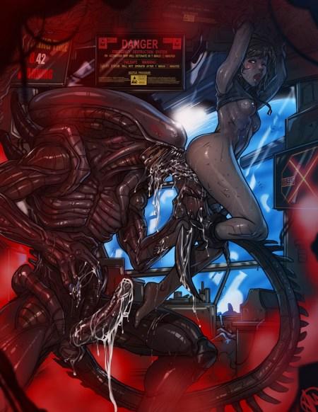 1483262 - Alien Alien _Isolation Ganassa Xenomorph