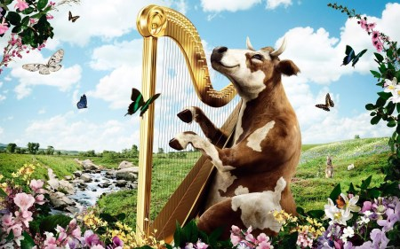 cow-playing-the-harp-662