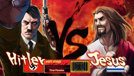 hitler_vs_jesus_by_pazero-d4jfnqz