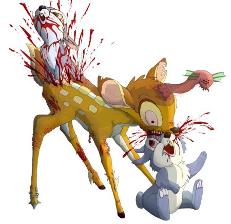 zombi_bambi_vs_rabbits_by_masacrar