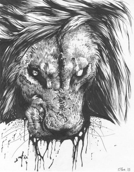 beast_wagon_lion_by_sharkeytrike-d8ha4eh