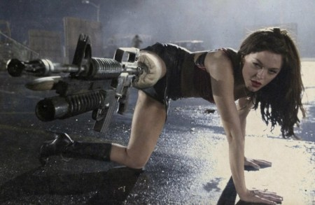 brunettes women guns planet terror 1920x1080 wallpaper_www.wallmay.net_86