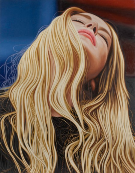Richard Phillips Red,Blonde and Blue