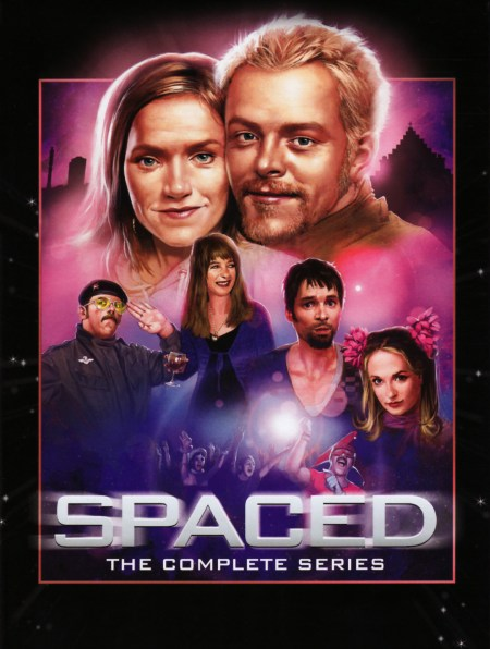 Spaced DVD poster