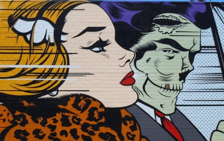 Corey helford gallery DFace mural