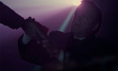 Toby Jones in a still from Peter Strickland's Berberian Sound Studio