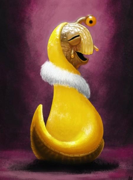 tango_the_foxy_banana_slug_by_modernerd-d52e7b4