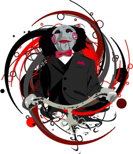 Billy_from_saw_by_almostvectors