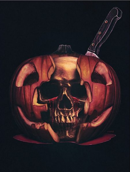 Sadist Art Designs Halloween II (1981) poster print
