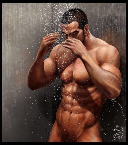 shower_by_aenaluck-d5ke2vi
