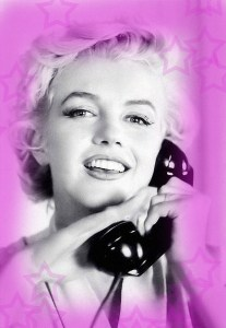 slumber party marilyn monroe invite print free