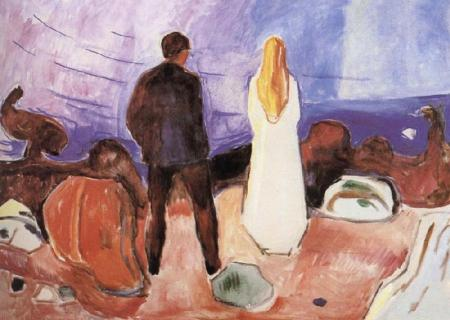Edvard Munch Alone