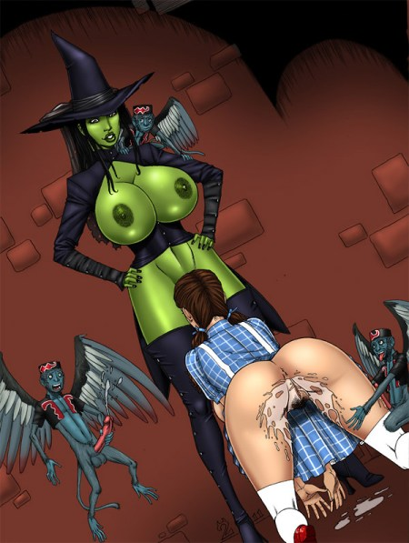 Elphaba-makes-Dorothy-her-bitch_Wicked-hentai-by-Deuce