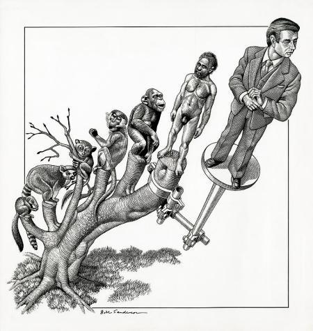human-evolution-conceptual-artwork-bill-sanderson