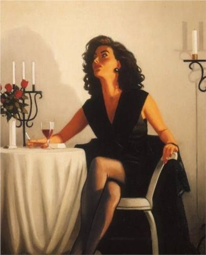 Table for One Jack Vettriano