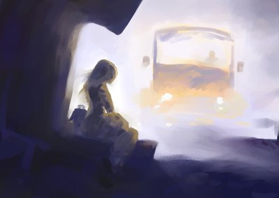 last_bus_home_rough_by_DimMartin