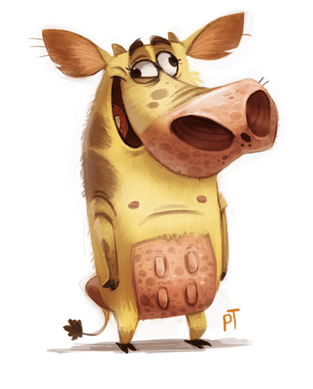 day_535__cow_and_chicken_by_cryptid_creations-d7hog6g