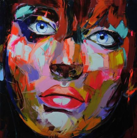 handpainted-wall-art-modern-abstract-oil-painting-on-canvas-palette-knife-girl-picture-for-home-decoration