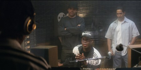 Straight-Outta-Compton-Movie-Recording-Boyz-N-tha-Hood-Scene