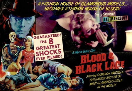 BLOOD & BLACK LACE WALL