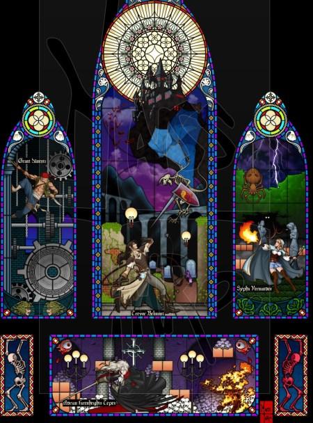 Castlevania-Tribute-Castlevania-III-Artwork1