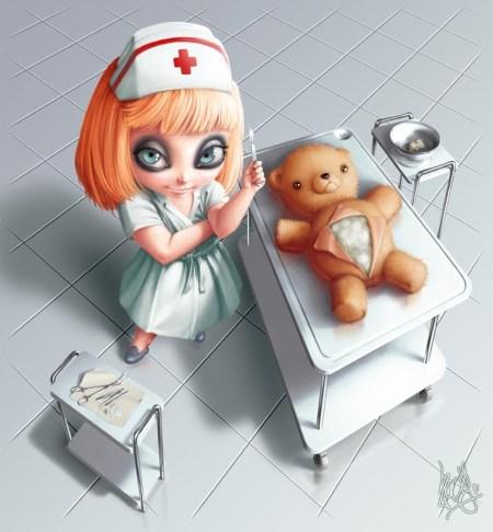 2D-Art-Alexandre-Simionescu-Nurse