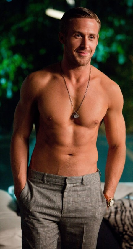 shirtless ryan gosling