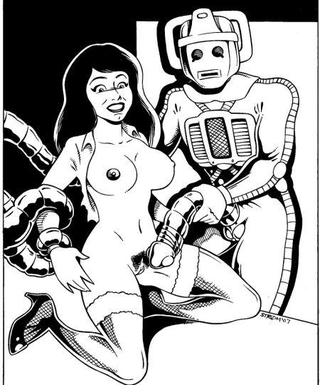 229274 - Cyberman Doctor_Who Frank_Strom Victoria_Waterfield
