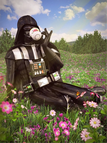 Star-Wars-on-Vacation-Art-Prints-Darth-Vader