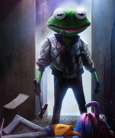 kermit___drive___by_danluvisiart-d67a4ht