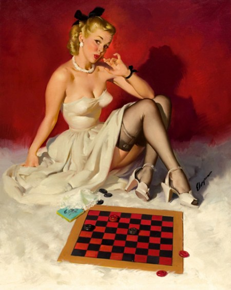 New-arrival-font-b-picture-b-font-Sexy-Woman-play-font-b-chess-b-font-canvas