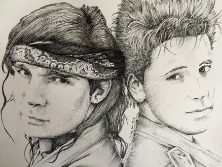corey_feldman_haim_the_lost_boys_frog_brothers_art_by_billyboyuk-da7ql8c