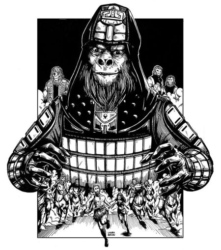 _fanart__planet_of_the_apes___contest_by_laurabevon-d5rzlja
