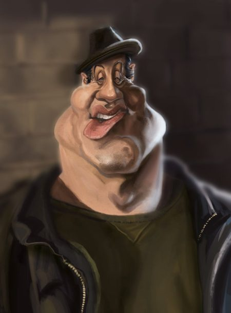 rocky_balboa_caricature_by_sombot-d9dkzr3
