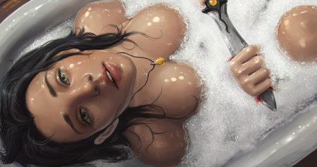 art-woman-bath-erotic-1253225