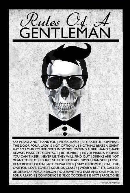 original_the-rules-of-a-gentleman-framed-art-print