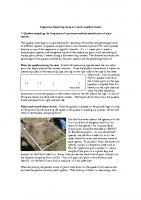 Quadrat transect sampling methods outline