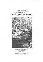 Stream Habitat protocol Taos Pueblo