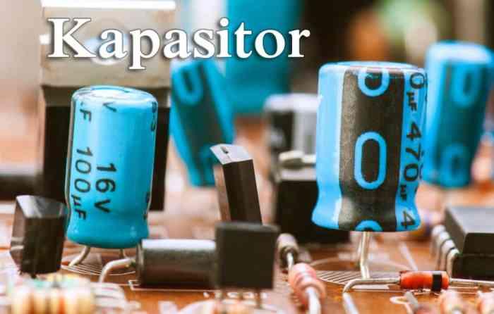Gambar Kapasitor (Capasitor)