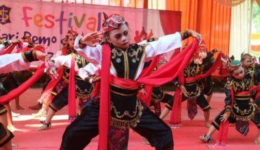 Gambar tari remo Jawa Timur