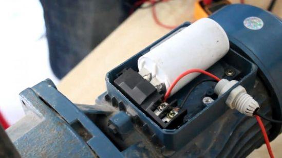 Gambar fungsi dan cara mengganti kapasitor pompa air