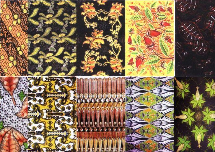 Gambar motif batik Bojonegoro