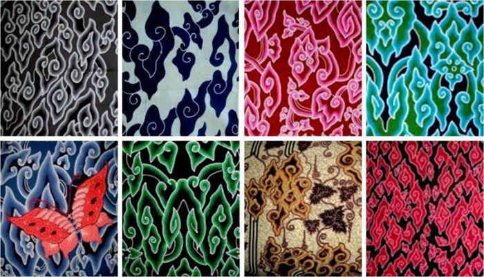 Gambar motif-motif batik Cirebon