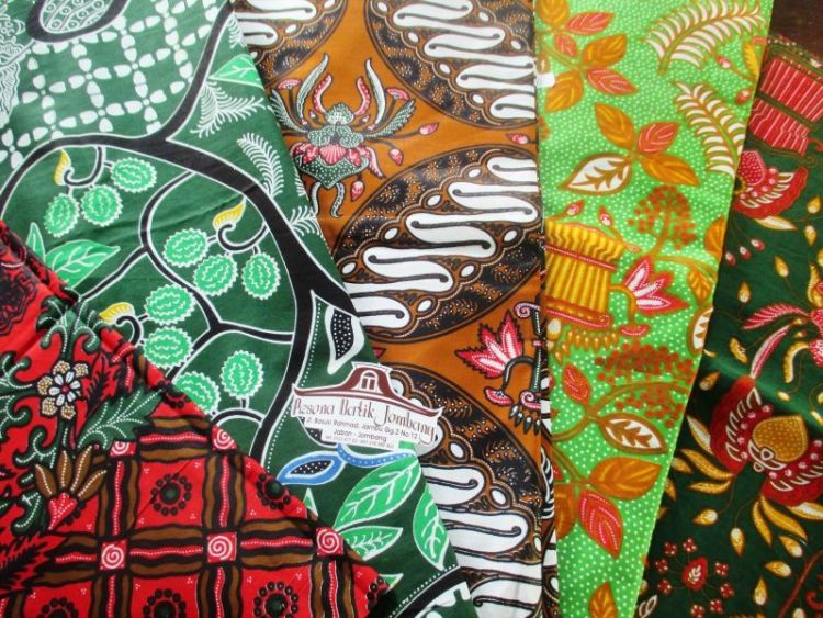 Gambar motif batik Jombang