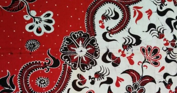 Gambar motif batik Tuban